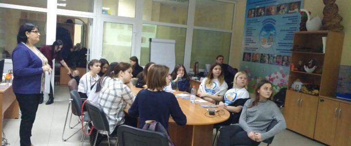 Установочная встреча с волонтерами проекта  «Маленькая мама»