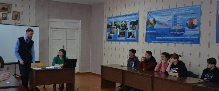 Выездная консультация в Касплянском филиале «Техникума отраслевых технологий»