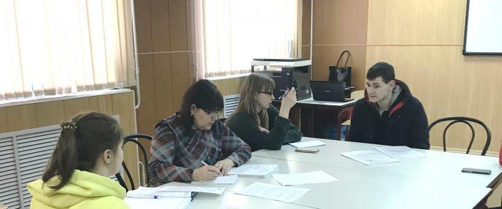 Выездная консультация в «Техникуме отраслевых технологий» в поселке Катынь.