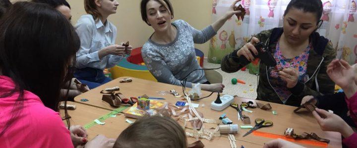 Мастер-класс по бижутерии в рамках проекта «Маленькая мама»