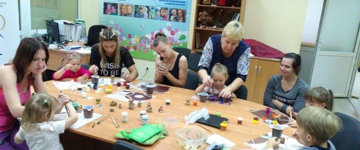 Роспись смоленской глиняной игрушки