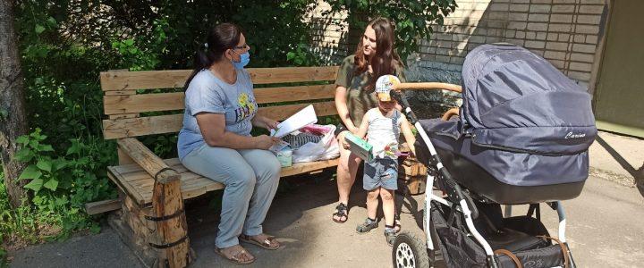 Выезд мобильной группы в Вязьму Сафоново и Ярцево в рамках проекта «Молодая мама»